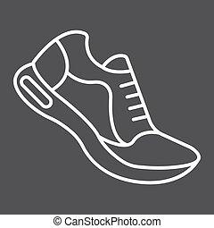 10., παπούτσια , πρότυπο , γυμναστήριο , eps , σήμα , αγώνισμα , εικόνα , τρέξιμο , μικροβιοφορέας , μαύρο , καταλληλότητα , graphics , γραμμή , φόντο , γραμμικός