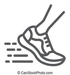 10., παπούτσια , σήμα , πρότυπο , eps , γρήγορα , αγώνισμα , εικόνα , τρέξιμο , μικροβιοφορέας , υπόδηση , graphics , γραμμή , αγώνισμα , αγαθός φόντο , γραμμικός