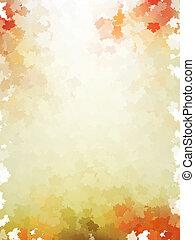 10, カラフルである, 葉, pattern., eps, 秋, テンプレート
