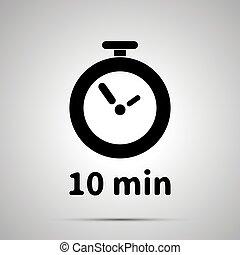 10 分 タイマー