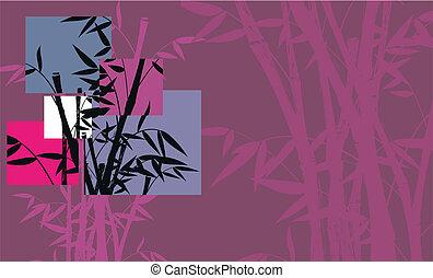 10, 背景, 竹