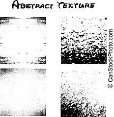 10, abstratos, eps, textura, vetorial, experiência preta