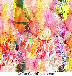 10, abstratos, pattern., seamless, eps, vetorial, floral