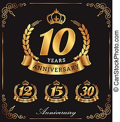 10, aniversario, años