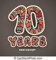 10, anniversaire, années