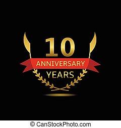 10 Anniversary years