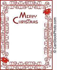 10, cartão natal