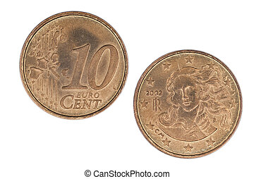 10, centavo,  Euro