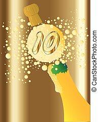 10, champagne