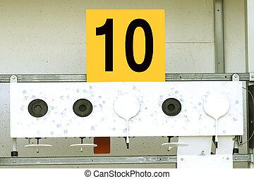 10, cible, biathlon, sports, tir, ?