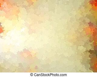 10, coloré, feuilles, pattern., eps, automne, gabarit