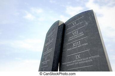 10 Commandments In Desert