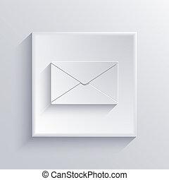 10, cuadrado, luz, eps, vector, icon.