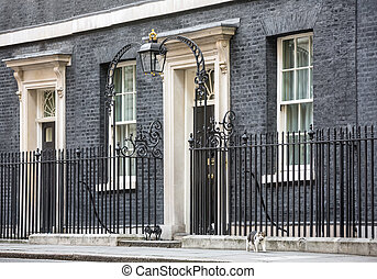 10 Downing Street Chief Mouser cat - LONDON, UK - Apr 19,...