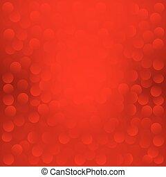 10., eps, experiência., vetorial, natal, vermelho