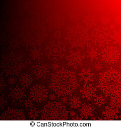 10, eps, profondo, seamless, natale., rosso