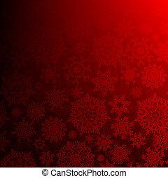 10, eps, profundo, seamless, natal., vermelho
