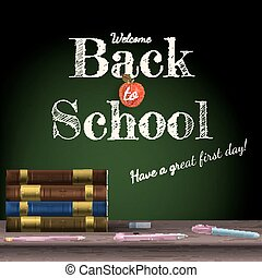 10, escuela, escuela, books., espalda, eps
