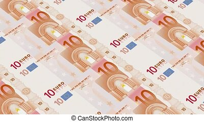 10 euro bills,Printing Money