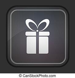 10, illustration., cadeau, éditer, eps, vecteur, facile, version., icon.