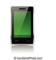 10., illustration., mobile, -, eps, téléphone, vecteur,...