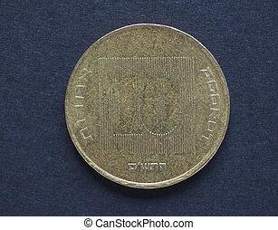 10 Israeli Agorot coin