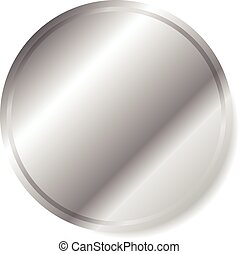 10, metallo, eps, /, metallico, vettore, graphics., circle.