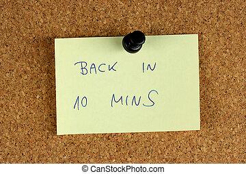 10, minutos, espalda