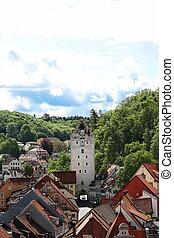 10, -, molti, città, 2015:, germania, 05, storico, germania, attrazioni, ravensburg
