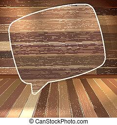 10, naturale, eps, struttura, bubbles., legno, discorso