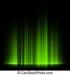 10, norteño, aurora, eps, luces, verde, borealis.