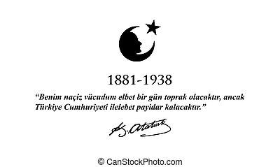 10, novembre, ataturk, commemorazione