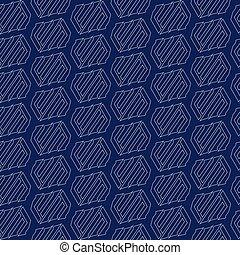 10, padrão, abstratos, eps, seamless, vetorial