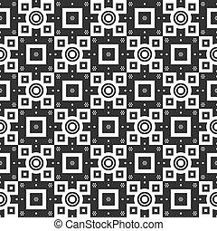 10, padrão, eps, seamless, vetorial, modelo