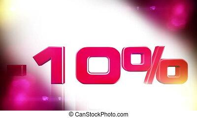 10 percent OFF 01 - 10 percent OFF discount animation