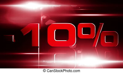 10 percent OFF 03 - 10 percent OFF discount animation