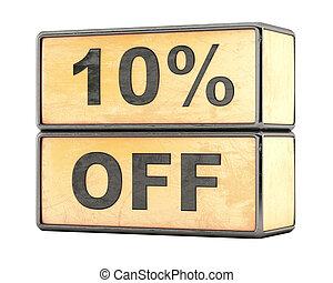 10 percent sale discount