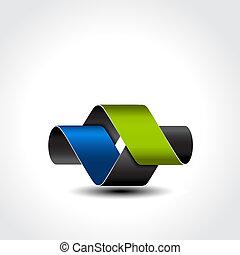 10, pictogram, underteckna, abstrakt, -, eps, vektor, ikon, symbol