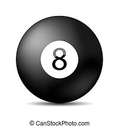 10, pool., eps, snooker, vettore, 8
