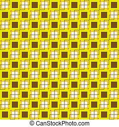 10, quadrado, padrão, eps, seamless, vetorial