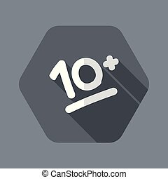 10+ result evalutation - Vector flat icon - Flat and...