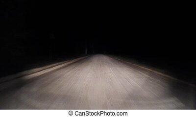 10, road., forest., par, nuit, route