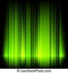 10, settentrionale, aurora, eps, luci, verde, borealis.