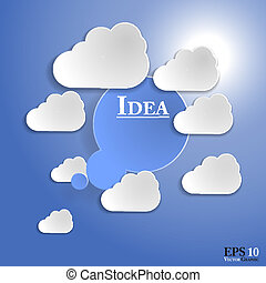 10, strato, descrittivo, organizzato, bene, modifiche, eps, ...