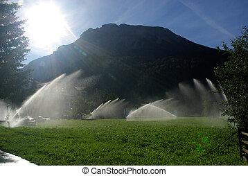 10, système irrigation