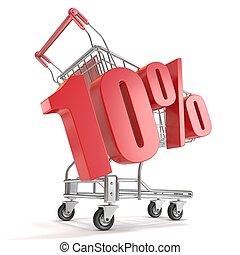 10% - ten percent discount