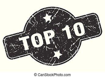 10, topo