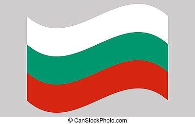 10, vettore, onda, eps, bandiera, illustrazione, bulgaria