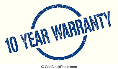 10 year warranty stamp