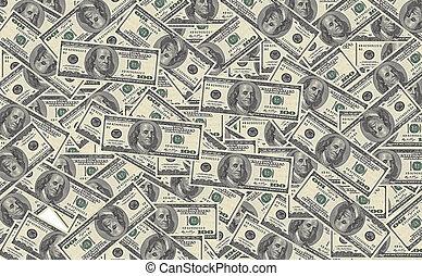 100, ビルズ, ドル, 背景